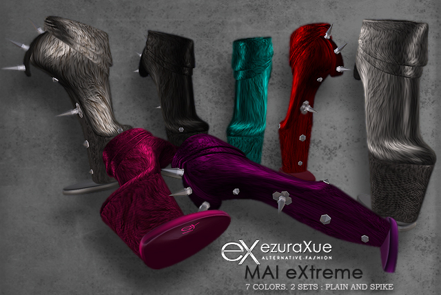 + eX + MAI eXtreme Fur Ankle Boots - all colors