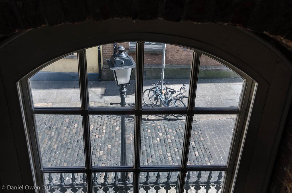 Window on to Eustace Street, Dublin