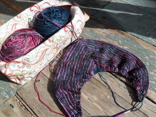 Arroway shawl