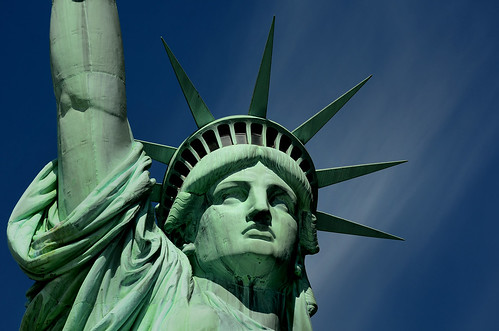 Statue of Liberty - Closeup by hpaich