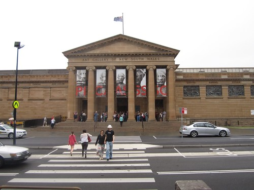 NSW art gallery - 2012 10:07 AM