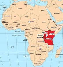 Vị trí nước Cộng hòa Rwanda