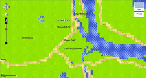Google Maps April Fools Phnom Penh