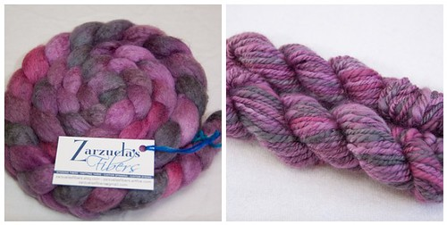 Zarzuela's Fibers BFL/Silk - January Haze
