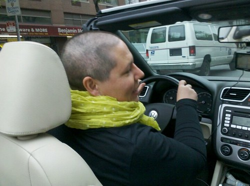 Our chauffeur....<3