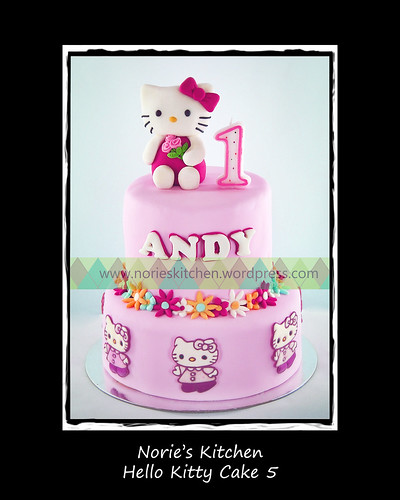 Norie's Kitchen - Hello Kitty Cake 5 by Norie's Kitchen