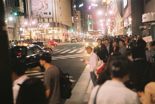 GWの夜の渋谷の人ごみやばい