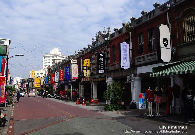 太平老街有三段,這是其中一段,總長約600公尺。