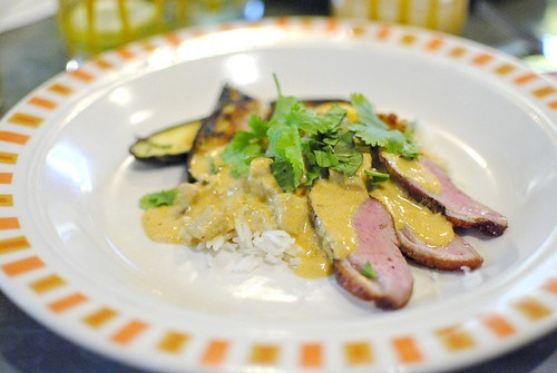 Braised Duck with Red Curry