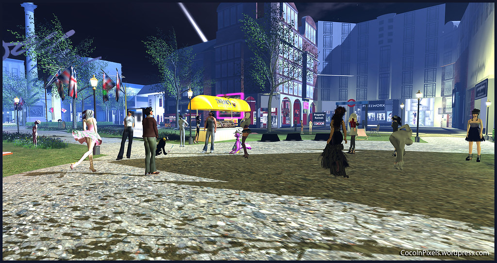 Mainland London, Second Life