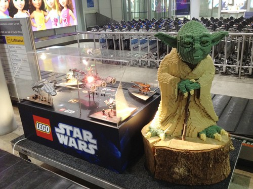 Yoda @ the Nuremberg Airport (Toy Fair 2012)