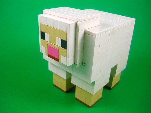 Minecraft Sheep by Ewok in Disguise