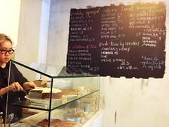 Drinks menu, SPRMRKT, McCallum Street, Singapore