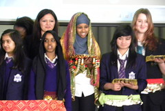 Sufiya Ahmed at Whalley Range High School for Girls