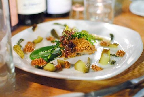 Monkfish Liver, Cucumber, Cornichons, Mustard Seeds2