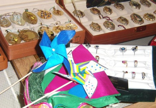 CorAma jewelry & pinwheels at Macef