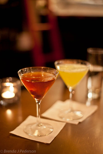 Restaurant Zoe Cocktails