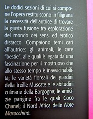 Prigioni e paradisi, di Colette, Del Vecchio editore 2012; Grafica e impaginazione di Dario Lucarini, disegno di cop.: Luigi Cecchi. risvolto di copertina (part.), 3