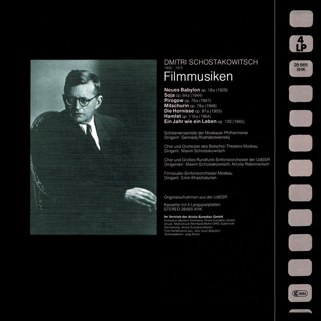 Dimitri Shostakovich - Filmmusik
