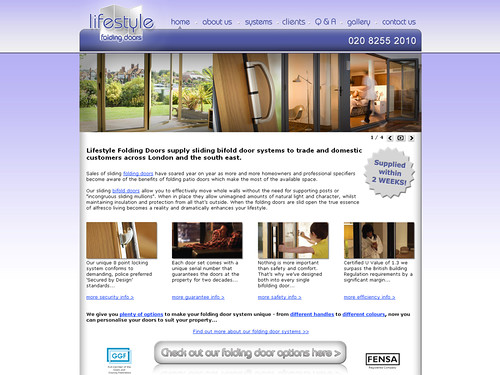 Lifestyle Folding Doors