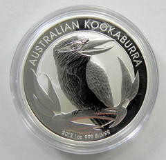 2012 Kookaburra Bullion Coin