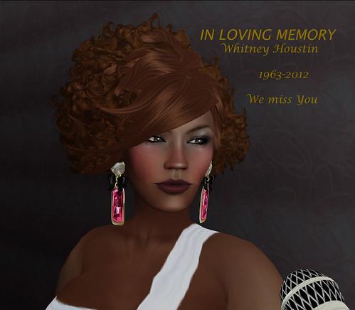 Whitney Houstin  by Riviera Medier