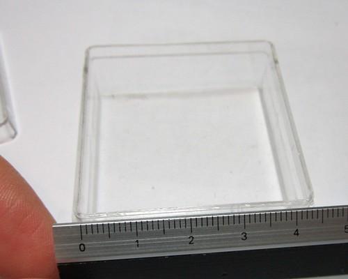 Clear case width