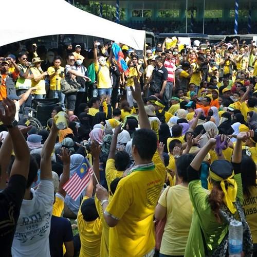 Bersih 3.0 Kota Kinabalu Bersih Bersih!
