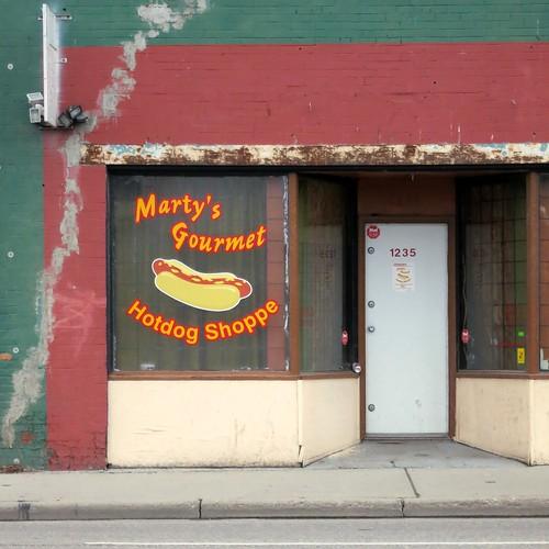 Marty's Gourmet Hotdog Shoppe