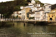 Luarca. Barrio del Cambaral. Puente del beso