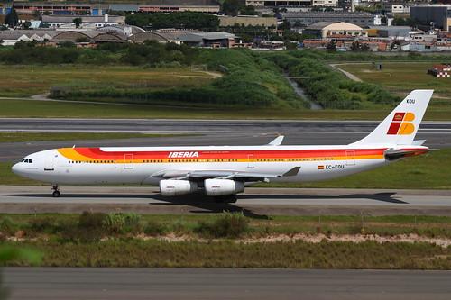 Iberia | Airbus A340-300 @ SBGR