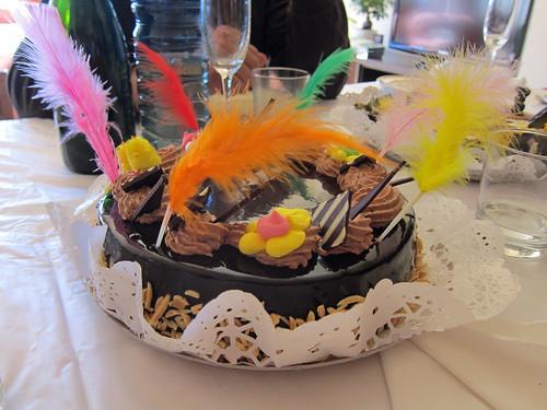 Chocolate Mona Cake