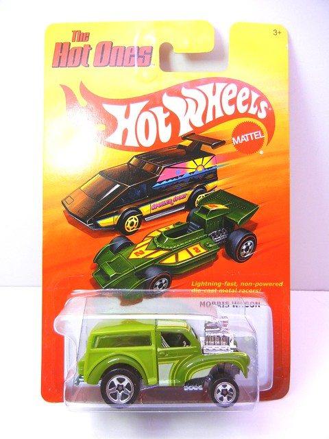 hot wheels hot ones morris wagon (1)
