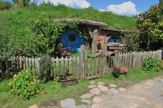 Casa de los hobbits en Hobbiton