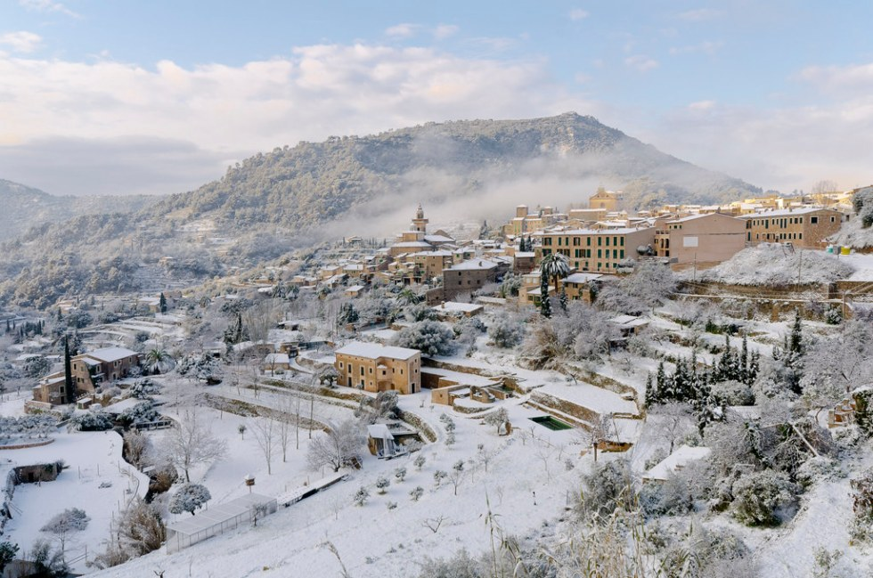 10 Spaanse Dorpen Die Prachtig Zijn Met Sneeuw Spanjetoptien