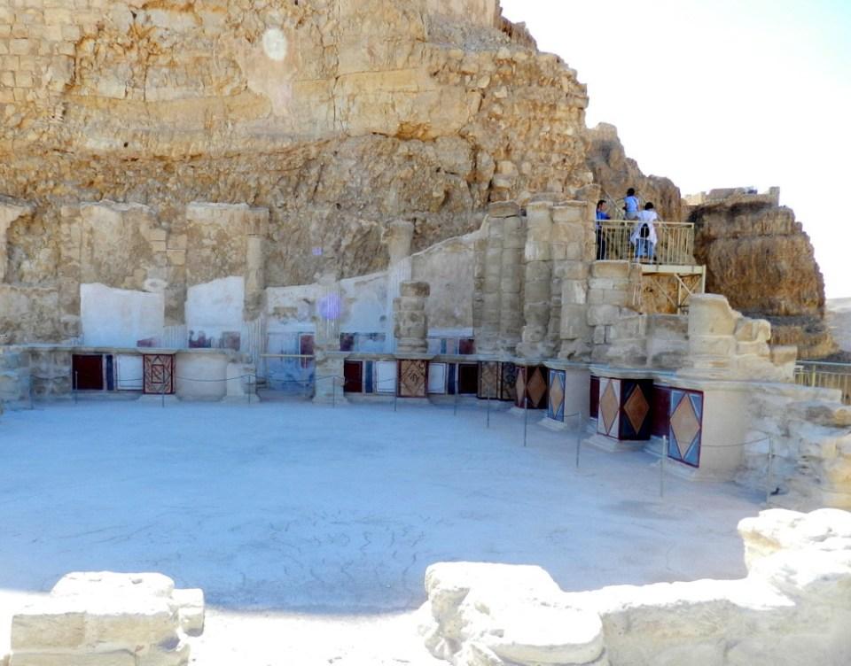 Fortaleza Masada palacio Herodes Israel 04