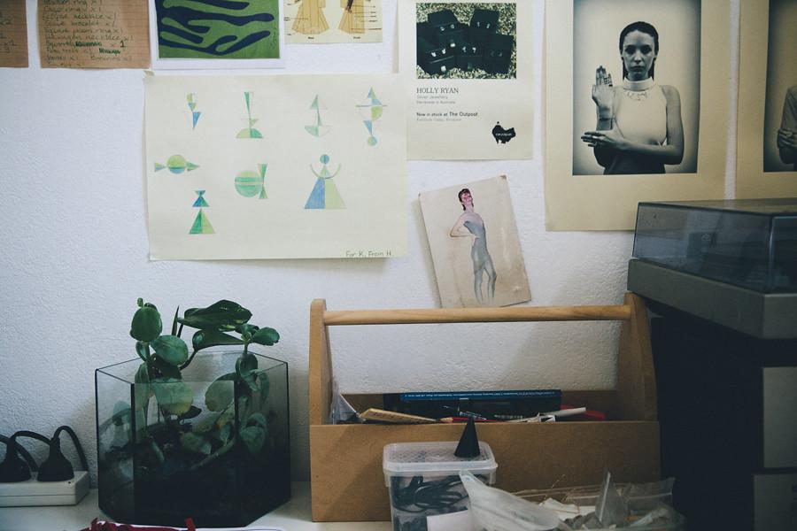 Holly Ryan in studio 9