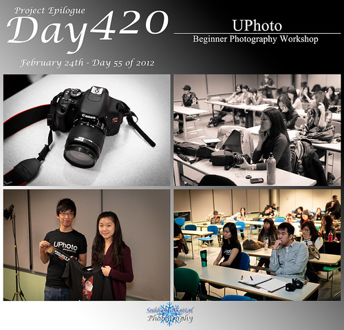Day 420 - [UPhoto] Beginner Photography Workshop