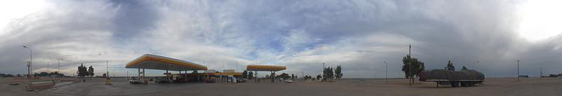 Station de San Antonio del Oeste, la porte du désert