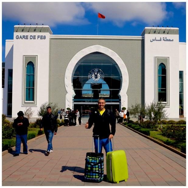 Estacion trenes Fez Marruecos