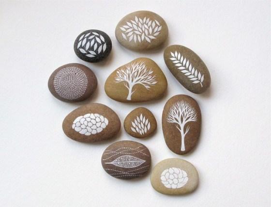 Collection of 10 Stones by Natasha Newton