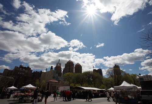 Sunstar above Union Square by GraceYang 