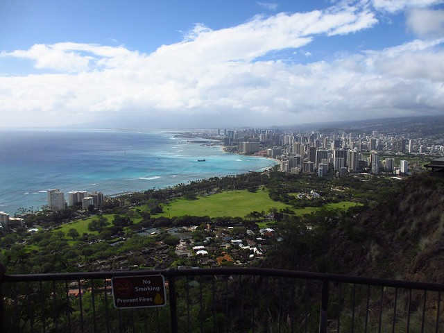 Waikiki from Diamondhead