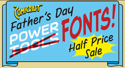 Comicraft Father's Day Sale