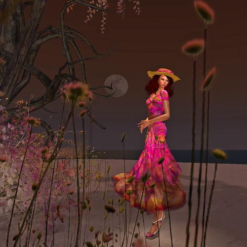 Soft evening breeze