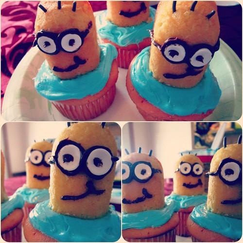 Despicable Me, Minion Cupcakes.