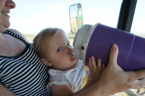 Evie and her water jug