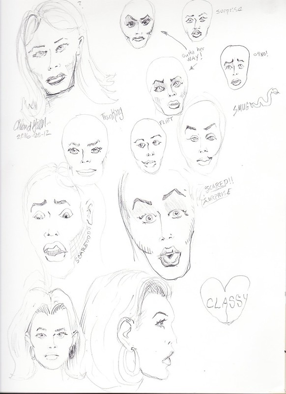 Female Face Study 4