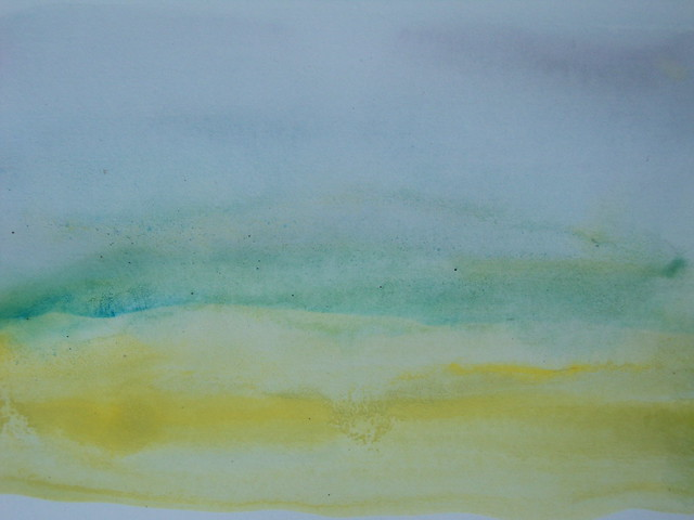 Our watercolor worshop tomorrow