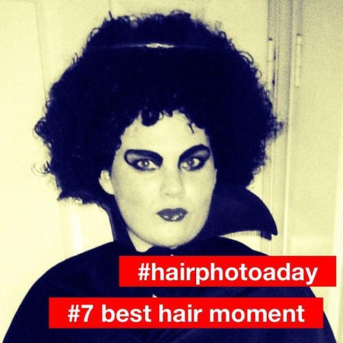 #hairphotoaday #pantene #7 best hair moment. Gotta be Frankenfurter.